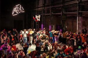 Streetdance Szene in INTO THE BEAT